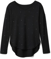 Gap Long sleeve hi-lo tee