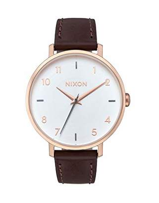 Nixon Womens Analogue Quartz Watch with Stainless Steel Strap A1091-2369-00