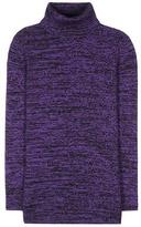 Miu Miu Virgin Wool Turtleneck Sweater