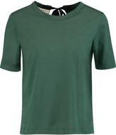 Marni Cutout cotton-jersey T-shirt