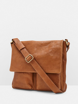 Oxford Ashley Leather Messenger