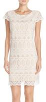 Eliza J Women's Scalloped Lace Sheath Dress