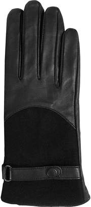 Barbour Blair Leather Wool Glove - Women's