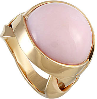 Versace 18K Rose Gold Coral Ring