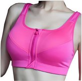 Acme Women's Seamless Soft Padded Comfort Non Wired Fitness Yoga Sports Bra Crop Top Vest