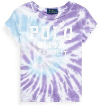 Ralph Lauren Kids Tie-Dye Polo 67 T-Shirt (2-4 Years)