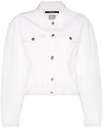 Ksubi cropped denim jacket