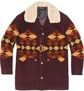 Pendleton Men's Shearling-Collar Coat