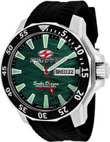 Seapro Sea-Pro Scuba Diver Limited Edition Mens Black Strap Watch-Sp8318