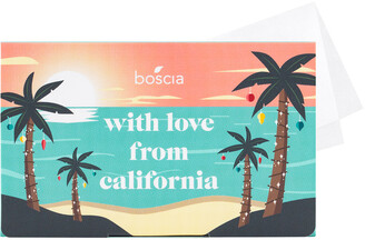 Boscia With Love From California Holiday Blotting Linens
