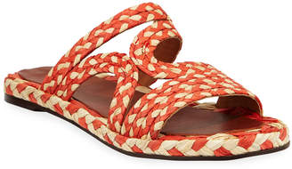 Clergerie Aura Two-Tone Sandals