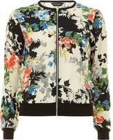 Dorothy Perkins Floral bomber jacket