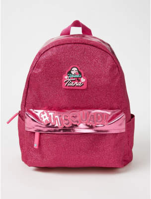 George Hearts by Tiana Pink Glitter Rucksack
