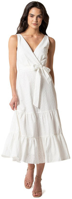 Forever New Bianca Broderie Tiered Dress