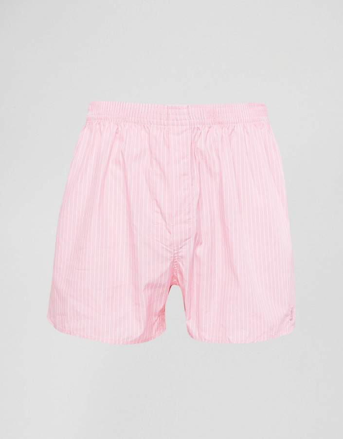 Thomas Pink Button Fly Boxer