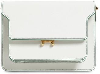 Marni Medium Saffiano Leather Rim Trunk Bag