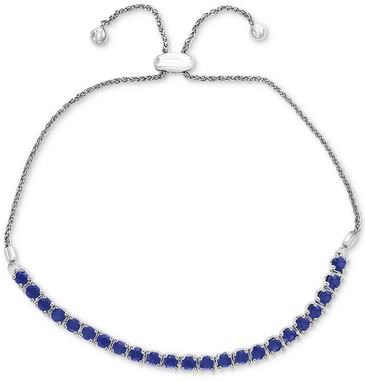 Effy Sapphire Slider Bracelet (2 ct. t.w.) in Sterling Silver