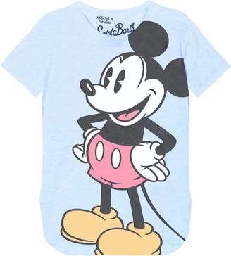 MC2 Saint Barth Mickey Mouse Print Womans T-shirt - Disney Special Edition