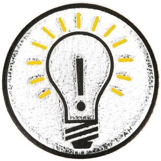 Anya Hindmarch 'Light Bulb' sticker