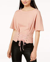 MinkPink Cotton Corset Top