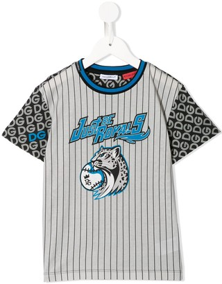 Dolce & Gabbana Kids Logo Print T-Shirt