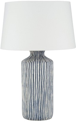 Pacific Lifestyle Mykonos Stripe Table Lamp