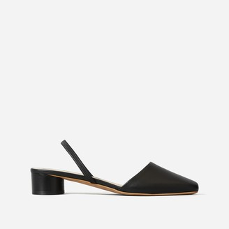 Everlane The Tapered Square Toe Slingback