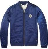 Scotch & Soda Amsterdams Blauw Bomber Jacket