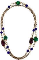 Chanel Gripoix & Faux Pearl Necklace