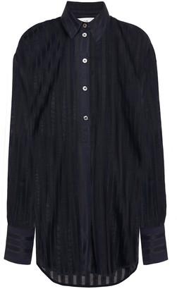 Victoria Victoria Beckham Striped Jacquard Shirt