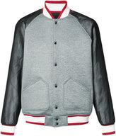 Mostly Heard Rarely Seen varsity bomber jacket - men - Nylon/Polyester - S