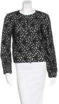 Diane von Furstenberg Collarless Lace Jacket