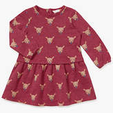 John Lewis Fawn Jersey Dress, Pink