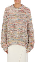 Acne Studios Women's Chunky Stockinette-Stitched Sweater-WHITE