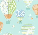York Wall Coverings York wallcoverings Peek-A-Boo Hot Air Balloon Wallpaper