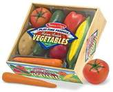 Melissa & Doug Playtime Produce Vegetables - Wooden Play Food