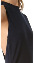 Karen Zambos Emma One Shoulder Dress
