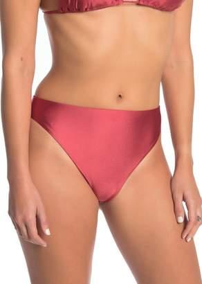 Dolce Vita High Leg High Waist Bikini Bottoms