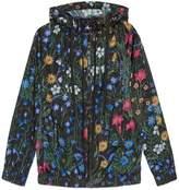 Gucci New Flora print nylon jacket
