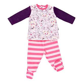 Camilla And Marc Baby 2-Piece Velour Pyjamas with feet - Dreamer - Size 9 Months (74 cm)