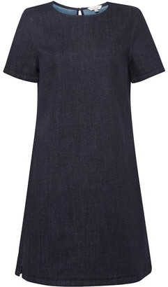 French Connection Eve Denim Tee Dress