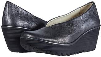 Fly London Yaz (Graphite Idra) Women's Shoes