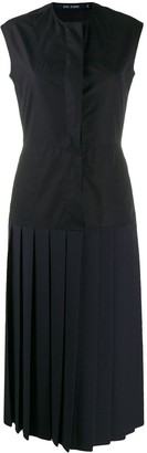 Sofie D'hoore Drop-Waist Pleated Dress