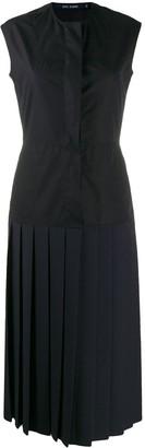 Sofie D'hoore drop-waist pleated dress