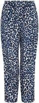 Gerard Darel Loose-fitting Leopard Print Pants