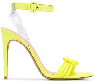 Alexandre Birman Heeled Knot Sandals