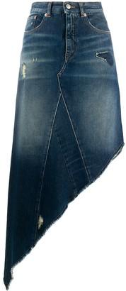 MM6 MAISON MARGIELA Asymmetric Denim Skirt