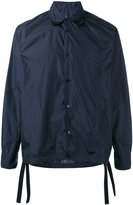 Marni drawstring hem shirt jacket