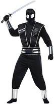 Fun World Costumes Mens Silver Mirror Ninja Costume