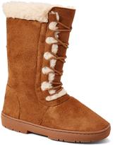 Cognac Lace-Up Boot